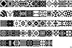 Zulu patterns