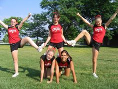 Stunts little girls camp