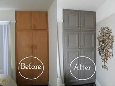 diy home upgrades Going through a home renovation is actually the worst. Time to take matters into your own hands. Furniture Makeover, Diy Furniture, Bedroom Furniture, Painted Furniture, Furniture Projects, Kitchen Furniture, Antique Furniture, Homemade Furniture, Trendy Furniture
