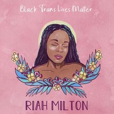 Riah Milton, age 25, was murdered during a robbery in Liberty Township, Ohio, June 9, 2020. She was employed as a home health aide and attended the University of Cincinnati at the time of her death.  Artist: African@AAPolicyForum