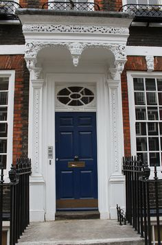 Carved Door Canopy: Queen Anne's Gate by curry15, via Flickr
