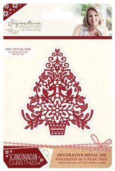 Sara Davies Signature Collection Scandinavian Christmas Dies, Stamps or Folders | eBay