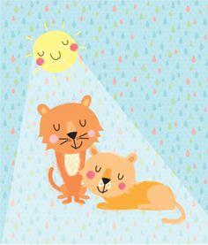 Martina Hogan - Lioness And Cub