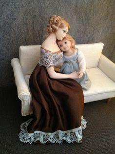 Little Miniature: mijn eerste popjes dit jaar...Hugs...