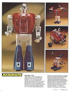 Micronauts Biotron. I had this one! One of my very favorite Micronauts toys!
