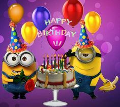 Take a look at the best Minion birthday quotes in the photos below and get ideas for your own birthday wishes! Minion Birthday Quotes, Funny Happy Birthday Wishes, Happy Birthday Text, Happy Birthday Wallpaper, Happy Birthday Minions, Birthday Wishes For Friend, Birthday Blessings, Happy Birthday Pictures, Birthday Wishes Cards