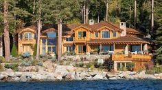 Lake Tahoe Estate  OK I'll take it if it comes with a maid and chef.