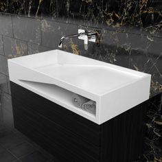 An elegant home sink with a wide, deep top section designed to accommodate as much water as one can ever imagine. It's made of strong non-porous fabric that never lets water through.