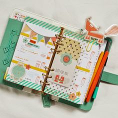 Webster's Pages Light Teal Color Crush Planner:: Anabelle O'Malley