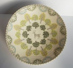 Katrin Moye - superb patterned ceramics