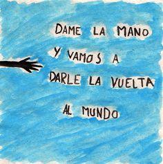 Calle 13, encuentralo en Deezer! dame la mano y vamos a darle la vuelta al mundo - musica