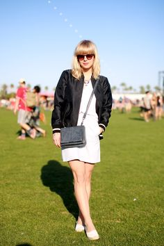 With the Band: Coachella 2015 Street Style  - HarpersBAZAAR.com