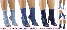 #Girls #RippedDenim #Boots #Stiletto #Ankle #PeepToe #Shoes #Sexy #Heel #hot #uk #Kyliejenner #Inna #Bloggers  #flirtywardrobe http://cgi.ebay.co.uk/ws/eBayISAPI.dll?ViewItem&item=371907135275&roken=cUgayN&soutkn=Y4Udai #EBay