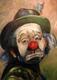Resultado de imagen para SAD clowns PHOTO