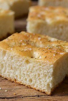 Blitz Bread: No-Fuss Focaccia Recipe