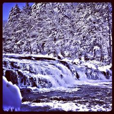 Buttermilk Falls, Adirondack Mountains