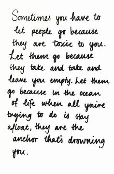 but to make this more positive, know that letting go is all apart of rising higher.. repining for the description!!