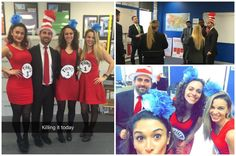 It's The Cat In The Hat!  Shore Thing Marketing shows us a thing or 2 while the cat in the hat runs our morning break out meeting!