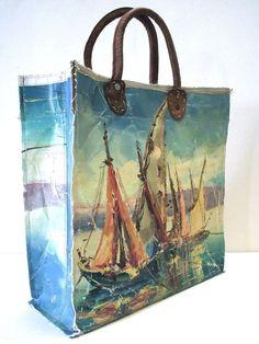 #Art on #Bags: Handpainted Bags