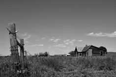 2. Capa, South Dakota - a town with a population of zero. This is all that is left.
