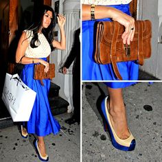This is a perfect example of why Kourtney K is one of my style faves. I feel a blog post coming :)