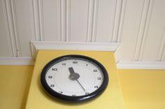 Clock, clock on the wall.
