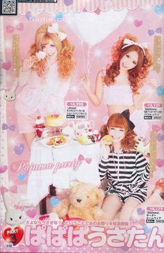 Japan gyaru fashion magazine - koakuma ageha Japanese Fashion, Japanese Makeup, 2000s Fashion Trends, Popteen, Gyaru Fashion, Asian Street Style, Tokyo Fashion, Pretty And Cute, Visual Kei