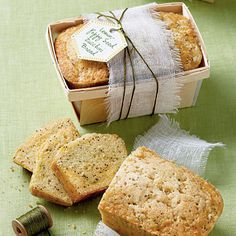 Zucchini Bread Gift Tag | Tie on our free downloadable gift tag with embroidery thread for a pretty finish. | SouthernLiving.com