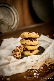 Little Box Brownie: Peanut Butter and Chocolate Chip Cookies
