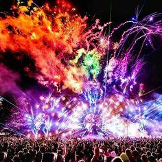 Ultra Music Festival 2014. Day 1. Tiesto on stage. #Edm #UMF