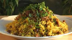 Zanzibar Rice Pilau. The spices make this dish amazing!