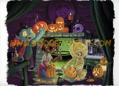 """""""Pumpkin Party"""" (by Mary J. Hoffman) The Wolfman (boy), the Mummy (boy), and the Boogervampire all love Halloween and pumpkin carving!"""