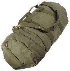 military canvas duffle bag - Google Search