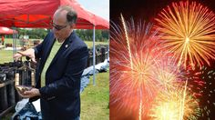 Looking Behind the Scenes of a Grucci Fireworks Show on Long Island