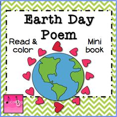 {Free} Earth Day Poem Mini Books -April is poetry month!