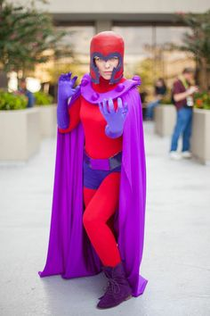 Cool female Magneto costume