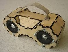 laser cut stereo