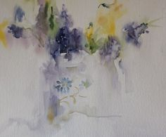 Watercolours With Life: The Simple Things in Life : Muscari in Watercolour