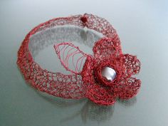 Items similar to RED NECKLACE - red flower - handmade decorative flower for the beautiful woman, unique, ,delicate on Etsy Handmade Decorations, Flower Decorations, Red Necklace, Red Flowers, Crochet Earrings, Delicate, Beautiful Women, Jewellery, Trending Outfits