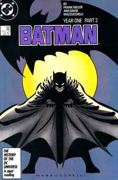 Batman #405, Batman: Year One, Part 2 of a 4 part series. Written by Frank Miller, art by David Mazzucchelli