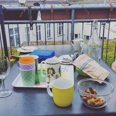 Draußen sitzen mit Freunden reden. Auch schön. #mamablogger_de #germanblogger #blogger_de