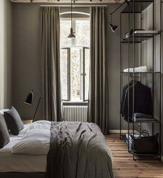 own your morning // city suite // urban men // urban style // urban loft // city life // interior // bedroom // wall art //