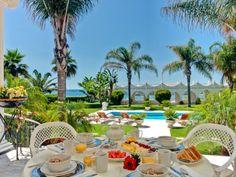 Frontline Beach Unrivalled Residence - Villa, Marbella - Puerto Banus Marbella Puerto Banus, Outdoor Furniture Sets, Outdoor Decor, Villa, Patio, Beach, Home Decor, Decoration Home, The Beach