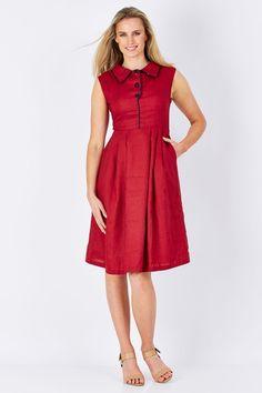 Elise April Dress - Womens Knee Length Dresses at Birdsnest Fashion