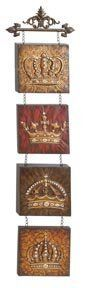 images about crowns on Pinterest Wall art Metal