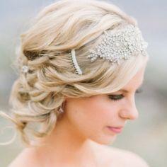 Gatsby wedding hair