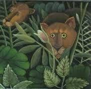 Картинки по запросу pictures of henri rousseau paintings