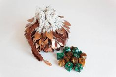 Hey, I found this really awesome Etsy listing at https://www.etsy.com/listing/540917977/copper-dice-bag-scalemail-pouch-bag-of
