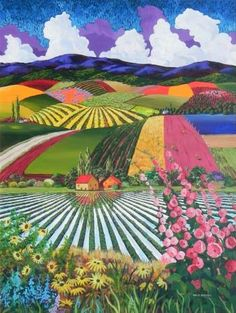 Gene Brown Reflections Of Home - Southwest Gallery: Not Just Southwest Art. Landscape Quilts, Abstract Landscape, Landscape Paintings, Art Marron, California College Of Arts, Art Populaire, Brown Art, Southwest Art, Naive Art