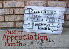 Pastor Appreciation Month & A Gift Idea #diy #gift #pastorappreciation #plaque